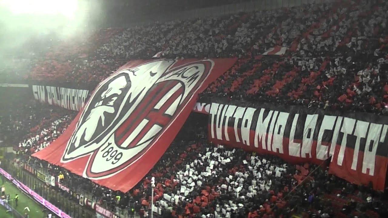 Milan Inter 0 1 Curva Sud Milano Stupende Coreografie