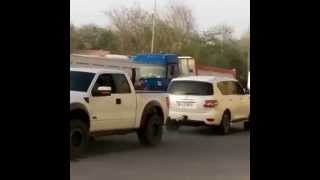 Ford Raptor Vs Nissan Patrol Tug Of War