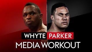 LIVE PUBLIC WORKOUT! Dillian Whyte vs Joseph Parker 🥊