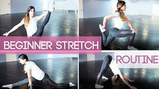 Beginner Stretching Routine FOLLOW ALONG