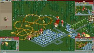 RollerCoaster Tycoon - Gameplay: Part 1/3