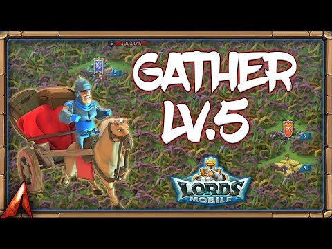 Gathering Tips For Lv.5 Tiles For Guild Fest! Lords Mobile