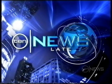 Sponsor, Ident & Ten's Late News Opener (February 2007)