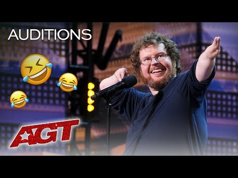 Laugh Out Loud With Your New Favorite Comedian Ryan Niemiller - America's Got Talent 2019