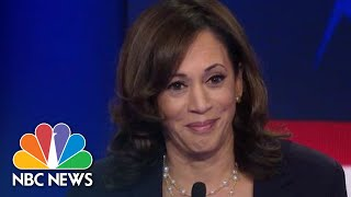 Kamala Harris Confronts Joe Biden In Tense Exchange On Race Relations | NBC News