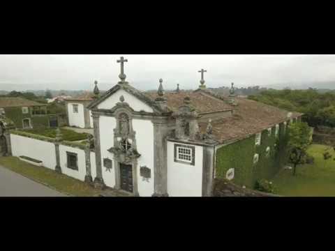 Eglise de Vila fria en drone (Portugal vue du ciel)