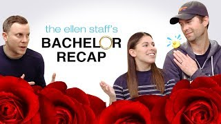 The Ellen Staff's 'Bachelor' Recap: Bekah M., Apple Juice, and Ping