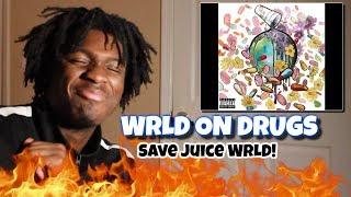 WRLD on drugs (Album Reaction) | Future and juice Wrld