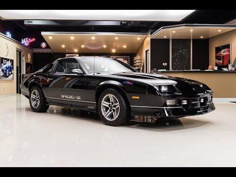1987 Chevrolet Camaro IROC For Sale