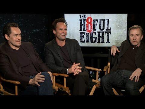 El elenco de 'The Hateful Eight' nos confiesa el amor que le tienen a Demián Bichir