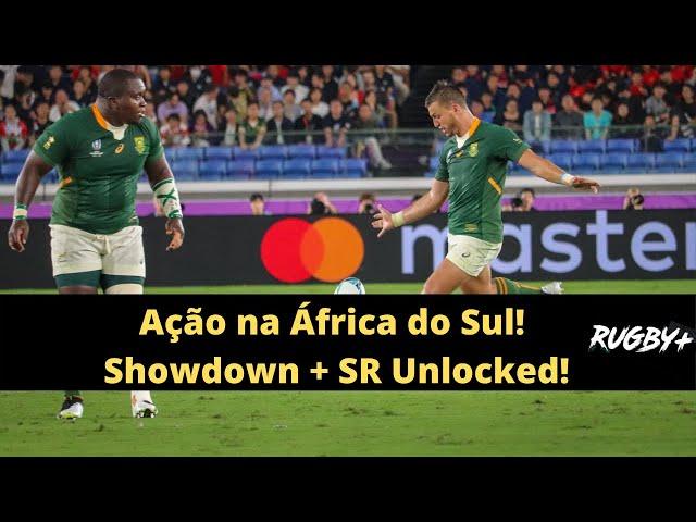 Ação na África do Sul! Showdown + Super Rugby Unlocked!