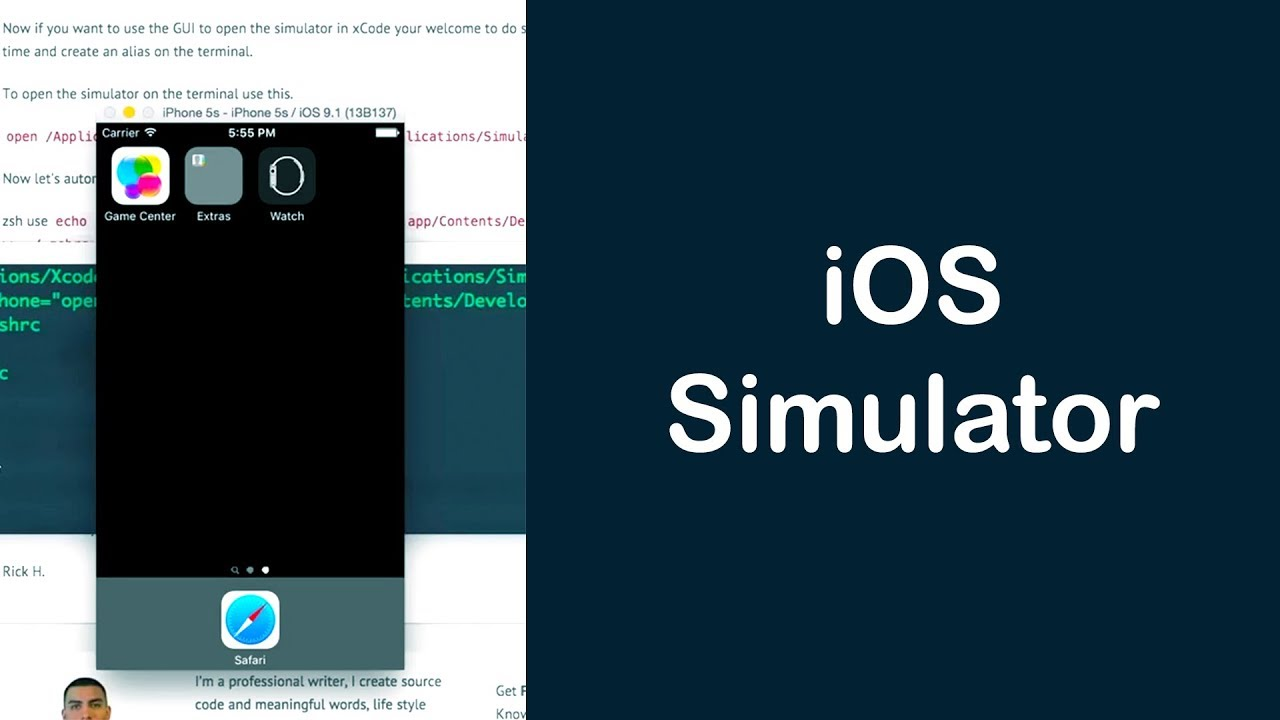 How to launch the iOS Simulator from Terminal?