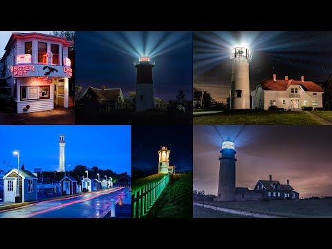 Cape Cod National Seashore: Student Photography from Night Photo Workshop May 21-24, 2017