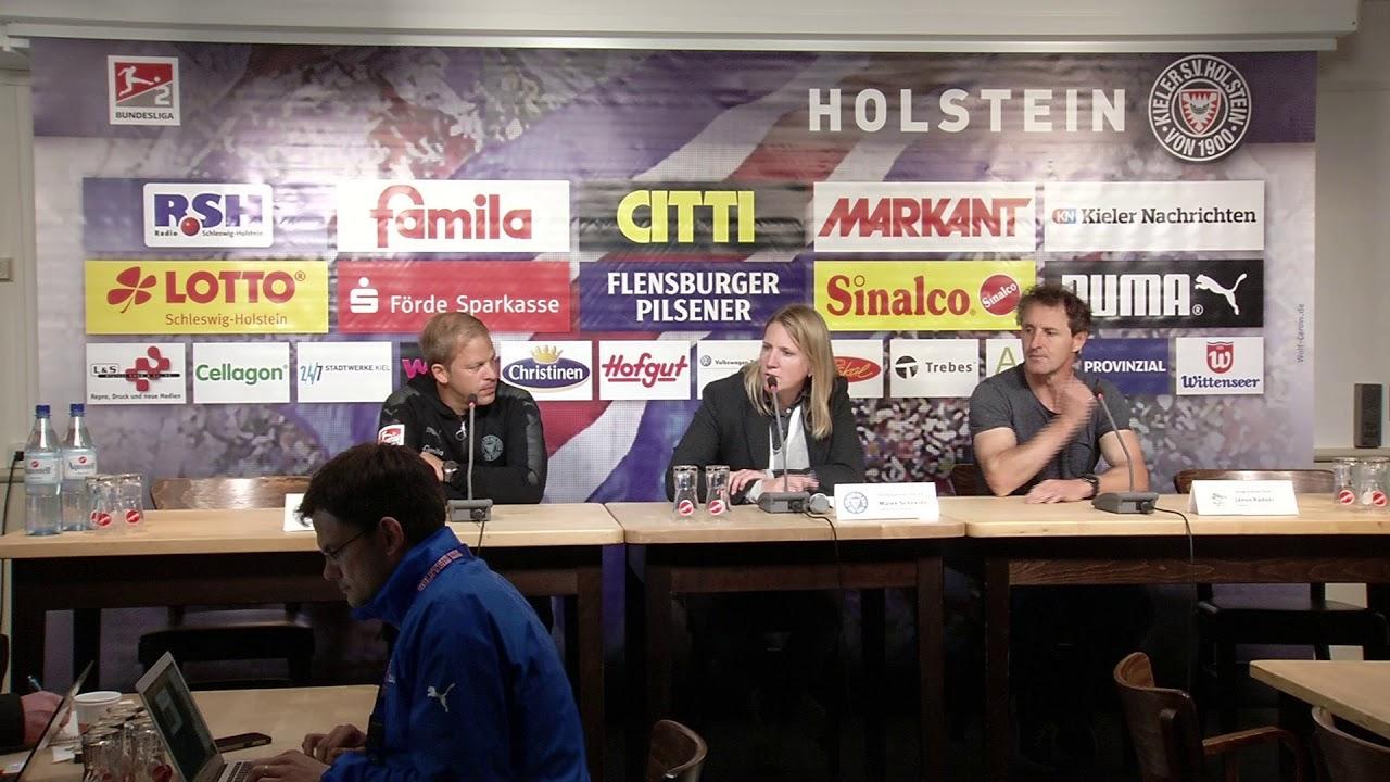 Pressekonferenz Nach Holstein Kiel Spvgg Greuther Furth 3 1 2 1 Youtube