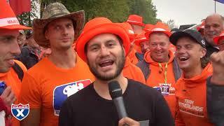 Jason Weigandt invades The Netherlands tent.