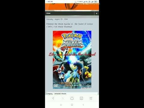 Pokemon kyurem vs the sword of justice download.