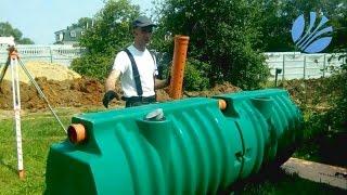видео автономная загородная канализация
