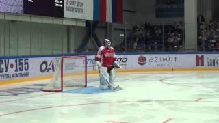 Александр Радулов сыграл в воротах в матче Ковальчук-тим - Малкин-тим. Часть II