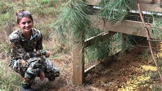 Transporting, Baiting, & Setting a Hog Trap!