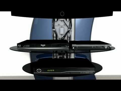 Meliconi Porta Tv Ghost Design 2000.Ghost Design 2000 Meliconi By Arreda Casa Online Youtube
