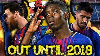 Will Ousmane Dembele's HORRIFIC injury cost Barcelona La Liga?! | Euro Round-Up