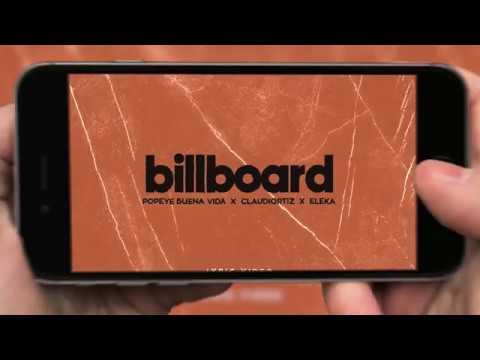 Popeye Buena Vida, Claudio Ortiz, Eleka - Billboard