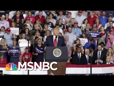 Donald Trump Tries To Distance Himself From 'Send Her Back' Chants | Velshi & Ruhle | MSNBC