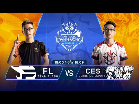 Team Flash Vs Cerberus Esports   FL Vs CES [Vòng 13 - 18.09] - ĐTDV Mùa Đông 2019