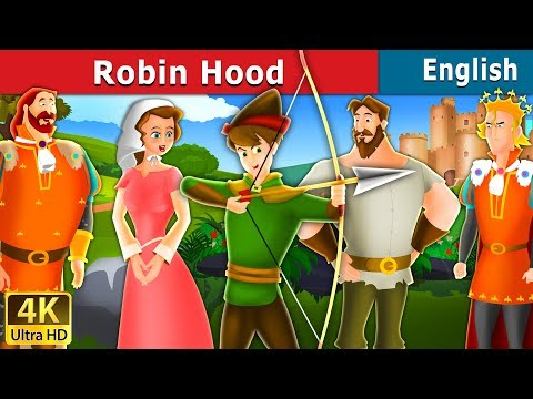Robin Hood Story in English | Bedtime Stories | English Fairy Tales