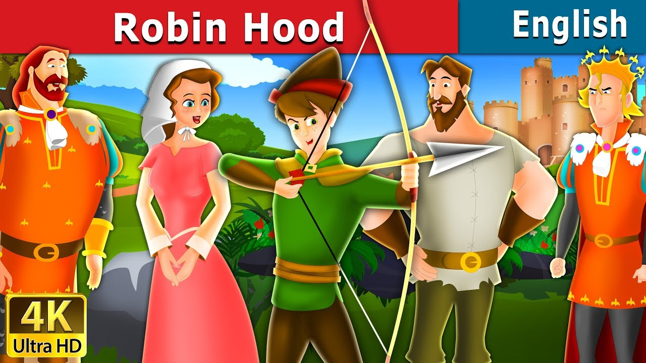 Download Robin Hood in English   Stories for Teenagers   English Fairy Tales