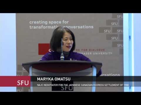 Judge Maryka Omatsu, Reconciling Injustices in a Pluralistic Canada