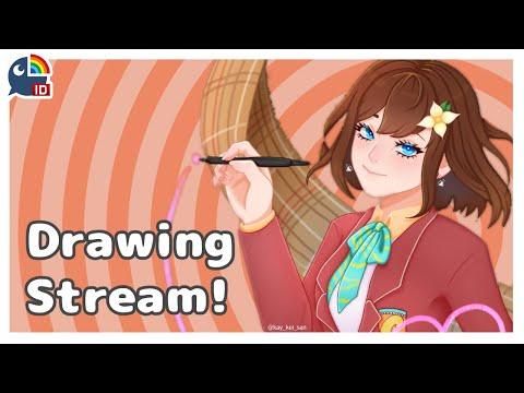 (Drawing Stream) doodling whatever you donate on stream【NIJISANJI ID   Hana Macchia】