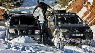 Nissan Navara vs Mitsubishi L200🏆 Challenge OFF ROAD 🇹🇷 TURKIYE