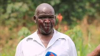 OKUGOBA ABANTU KU TTAKA: E Luweero waliwo abasula bakukunadde