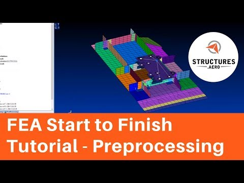 FEA Modeling Tutorial from Start to Finish