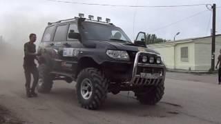 тюнинг УАЗ патриот Волгоград V8 ГАЗ53