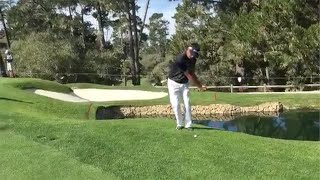 Bubba Watson's Golf Trick Shot