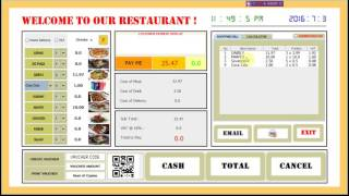 Like subscribe if you want the code! it is a simple software for small restaurants. to download code https://github.com/msfata/restaurants/blob/master/old%20...
