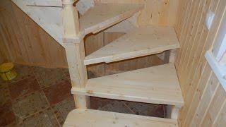 Изготовление лестницы (день 2)/ ступенька 48