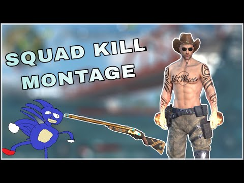 Squad Kill Montage | Ros (Mobile)