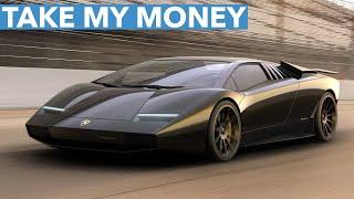 """NEW"" LAMBORGHINI COUNTACH…TAKE MY MONEY!"