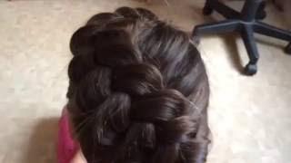 Видеоурок плетения косы