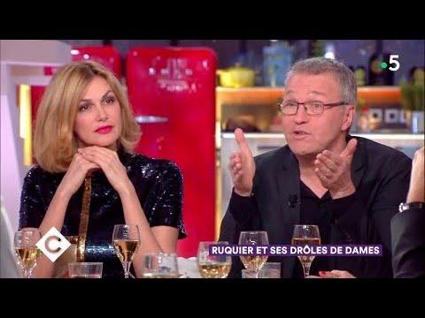 Laurent Riquier et les Parisiennes au dîner - C à Vous - 21/02/2018