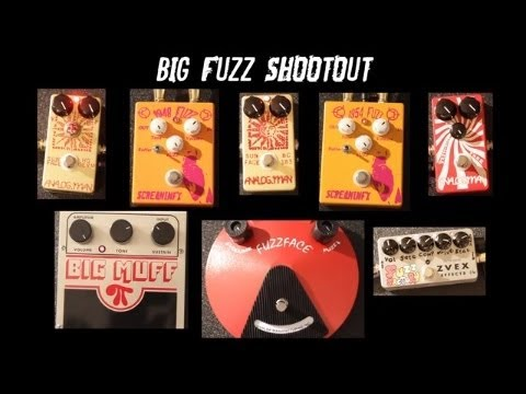best fuzz pedal shootout 8 favorites chords short lead and wah wah test youtube. Black Bedroom Furniture Sets. Home Design Ideas