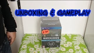 "(Unboxing & Gameplay) Watch Dogs ""Vigilante Edition"" sur PS4"