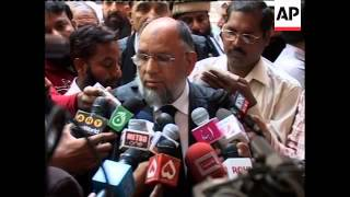 JuD chief in court as probe into attacks connection continues