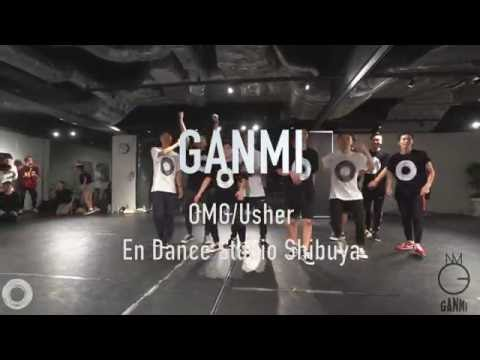 "GANMI WORKSHOP""OMG/Usher""@En Dance Studio SHIBUYA"