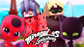 Minecraft Ladybug and Cat Noir Ep 11: The Journey! Best of Miraculous Ladybug Roleplay Season 1