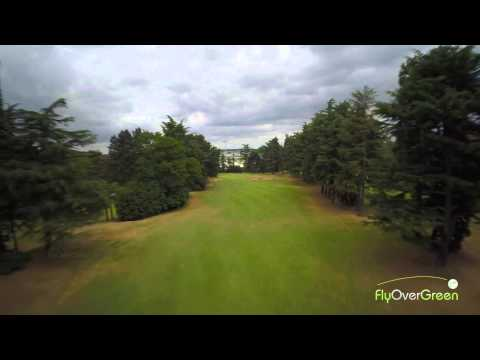 Racing Club De France – drone aerial video – La Vallée – Hole#17