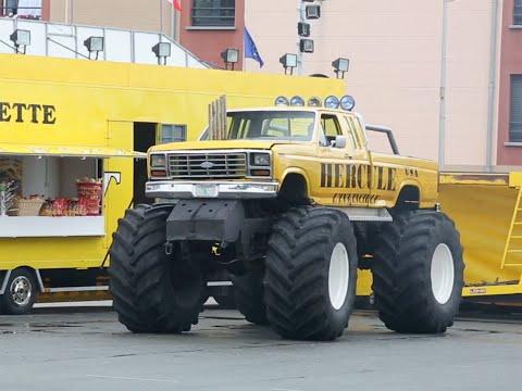 Auto Plus au volant d un Monster Truck